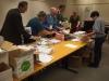 Organisationskommittén i arbete dagen före Arkivveckan (Fotograf: Maria Bjersby Stenudd)