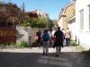 Stadsvandring på Kyrkbacken (Fotograf: Maria Bjersby Stenudd)